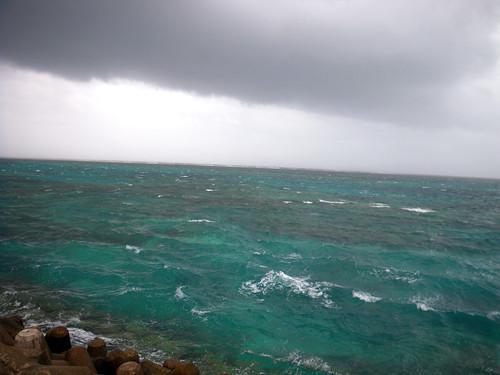 荒れているサザンゲート海
