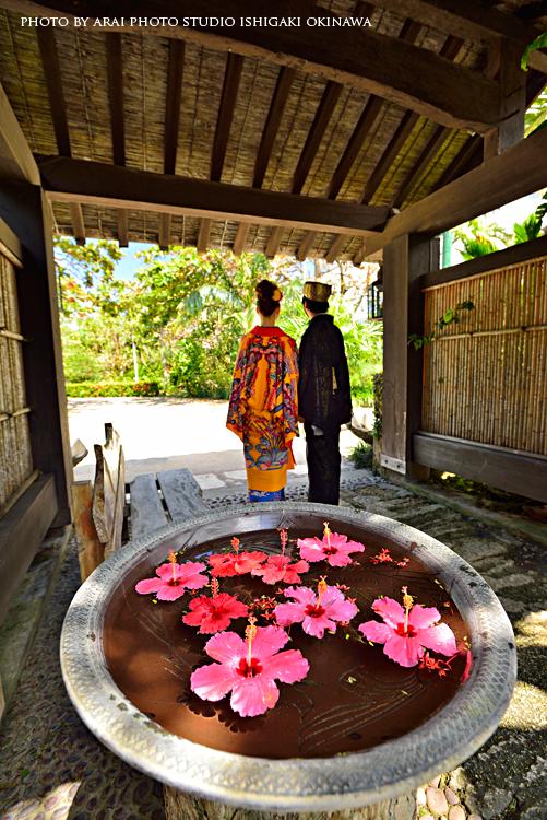 石垣島琉球衣装ロケ