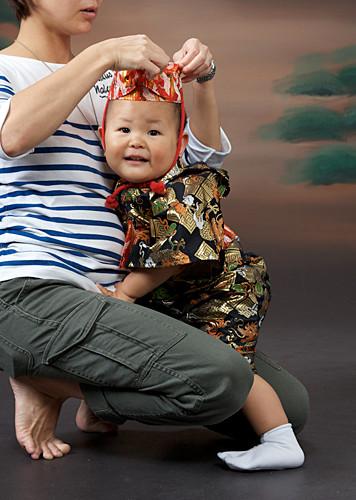 琉球衣装一歳記念