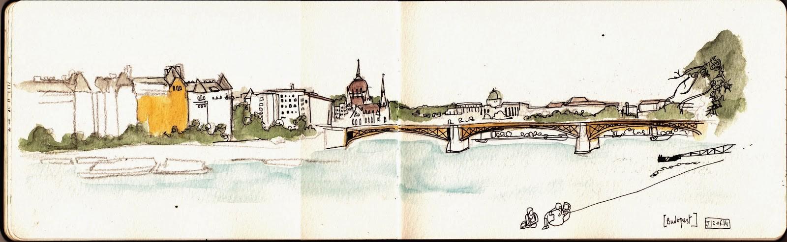 Budapest - Les bords du Danube