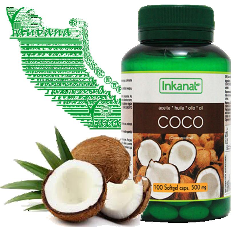 Aceite De Coco Organico Capsulas X 500 Mg Yauvana Peru Lima Productos Organicos Alimentos Organicos Productos Naturales Casa Naturista Alimentos Funcionales Productos Veganos Raw Vegetarianos Productos Sin Gluten Productos Sin Lactosa