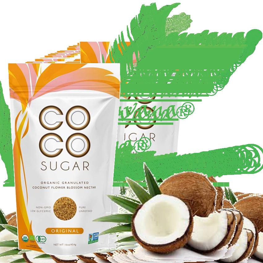 diabetes orgánica de azúcar de coco