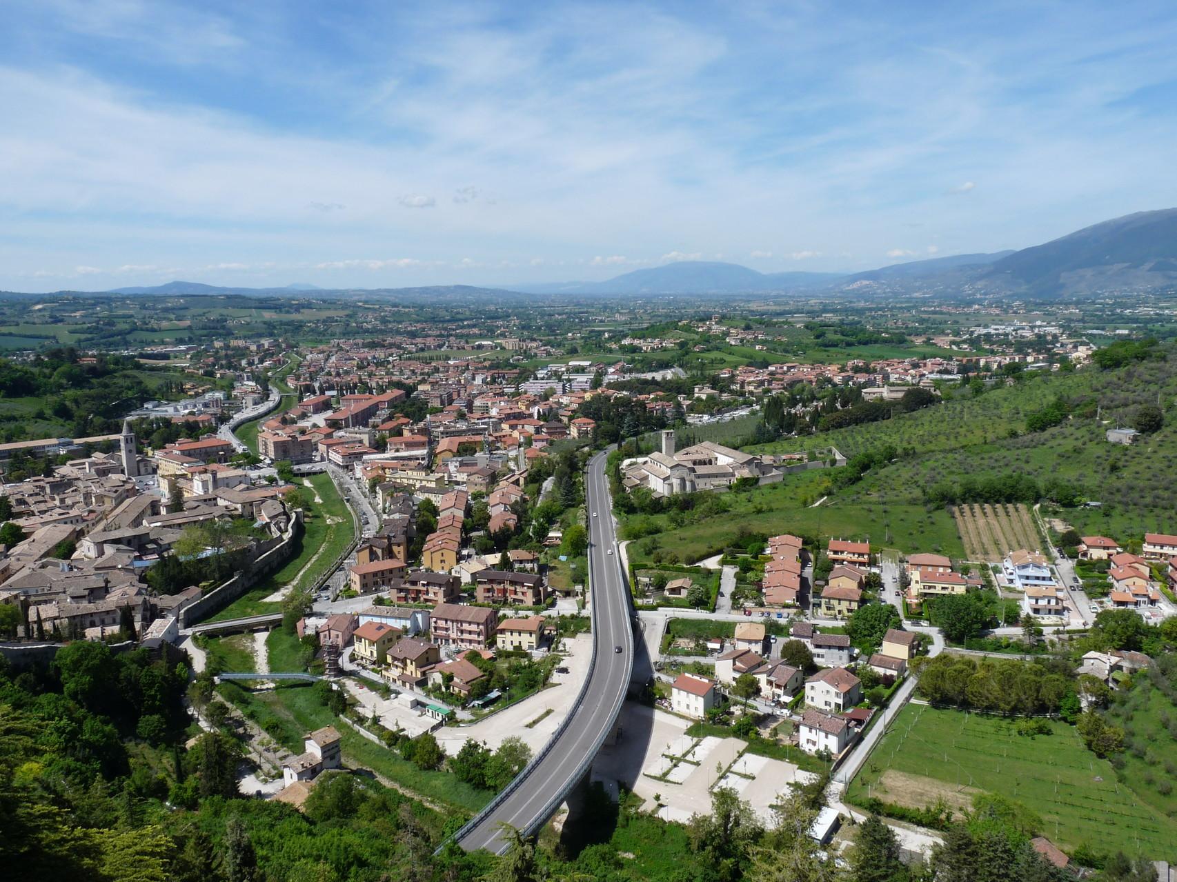 Vue de Spoleto