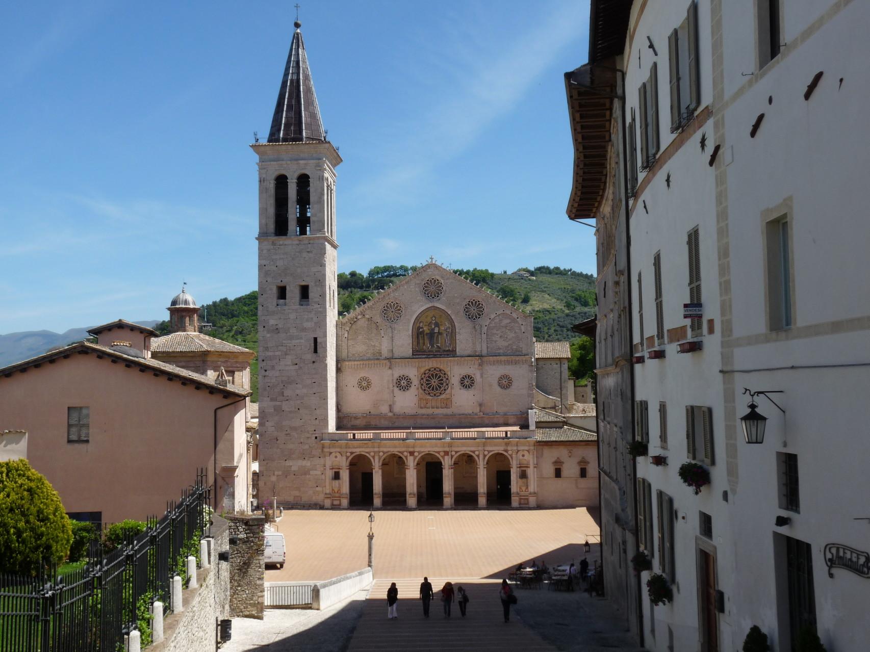 La cathédrale de Spoleto