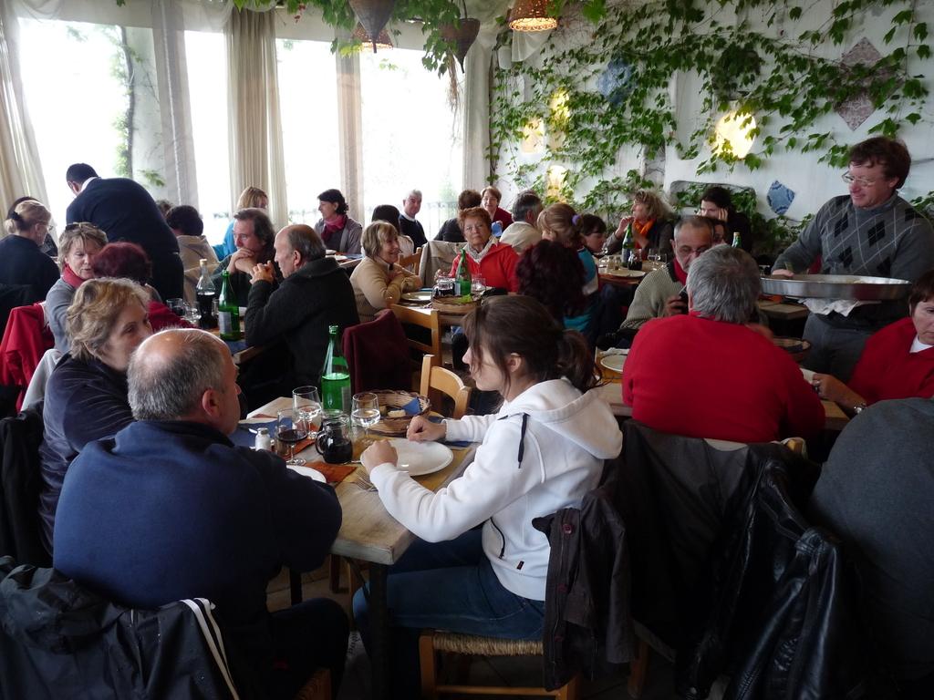 Restaurant à Anacapri .