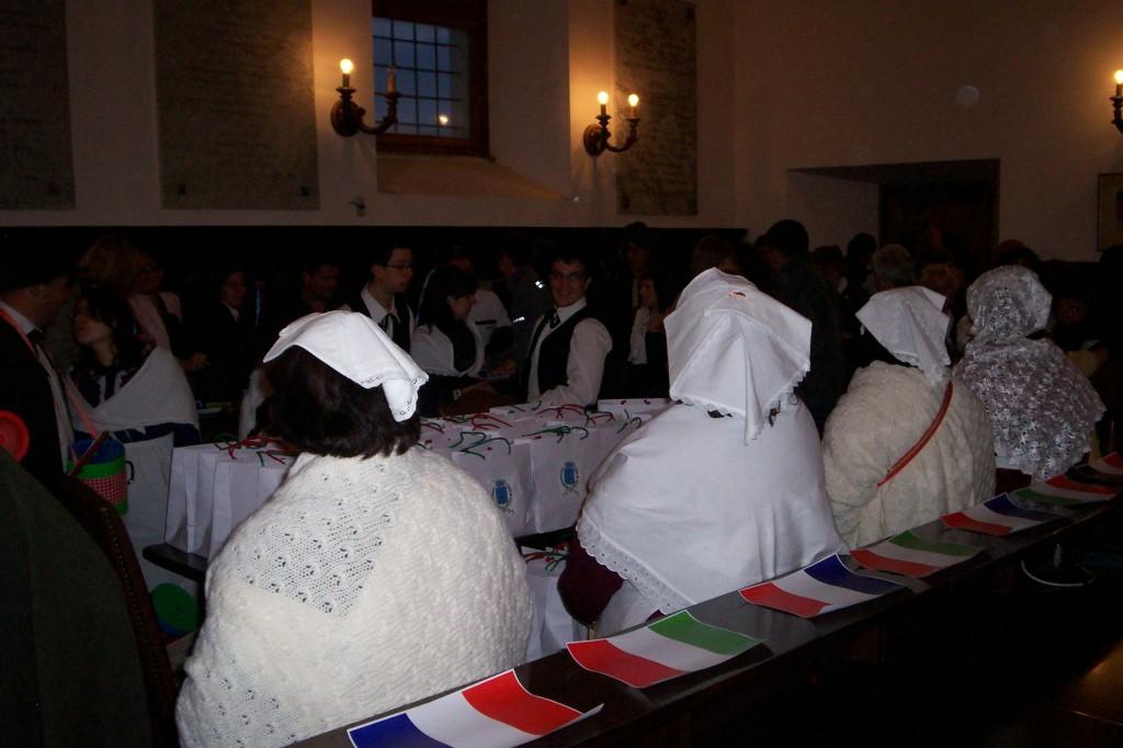 La réception en notre honneur à Fara