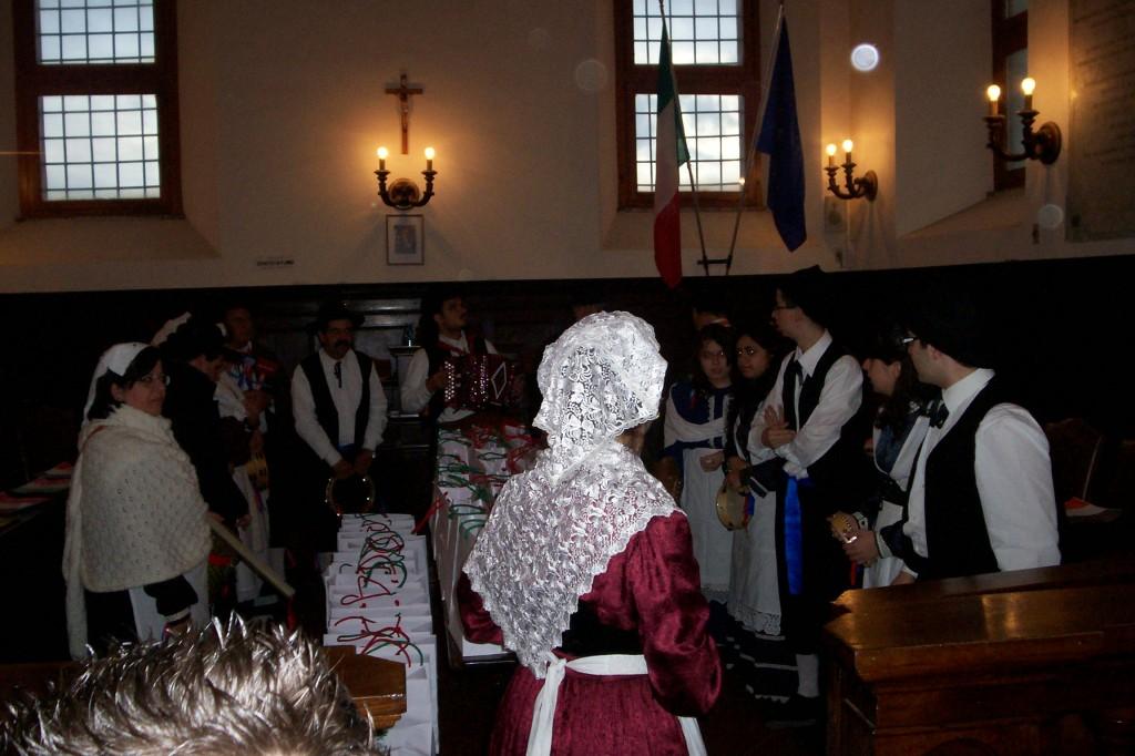 Réception à la mairie de Fara Sabina
