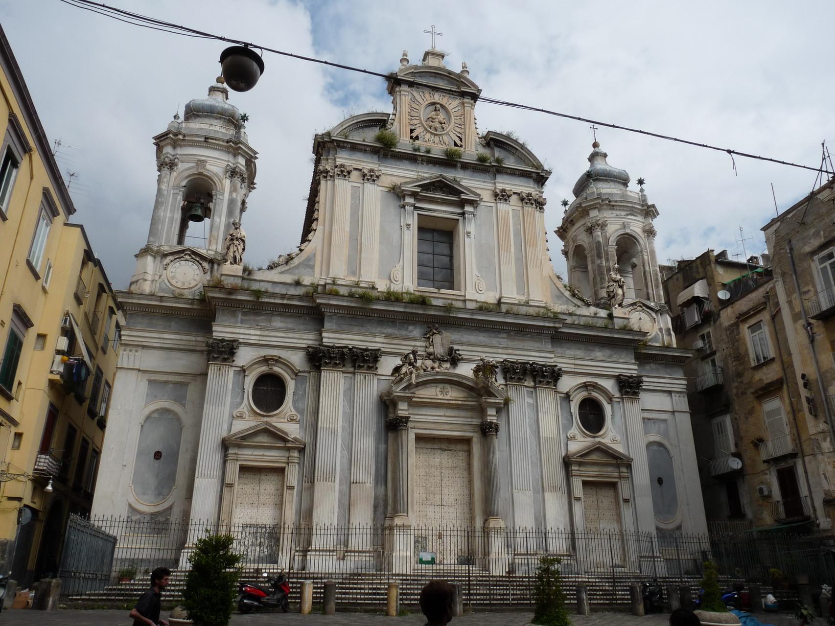 La cathédrale de Naples