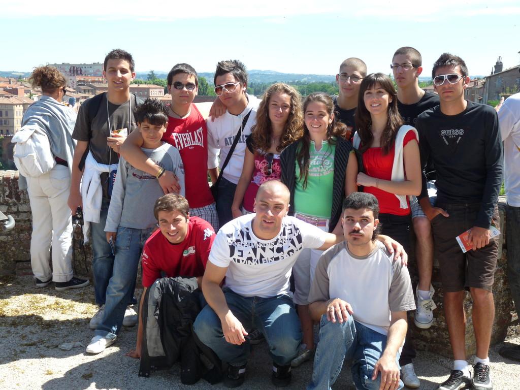 Le groupe des jeunes