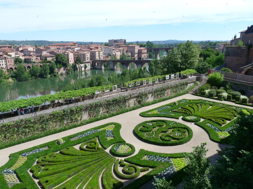 Jardins paysagers à Albi