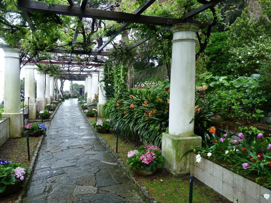 Les jardins de la villa San Michele