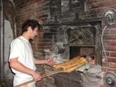 Le four de la boulangerie