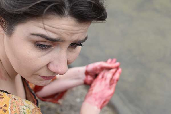 "Lady Macbeth ""Out dammed spot"""