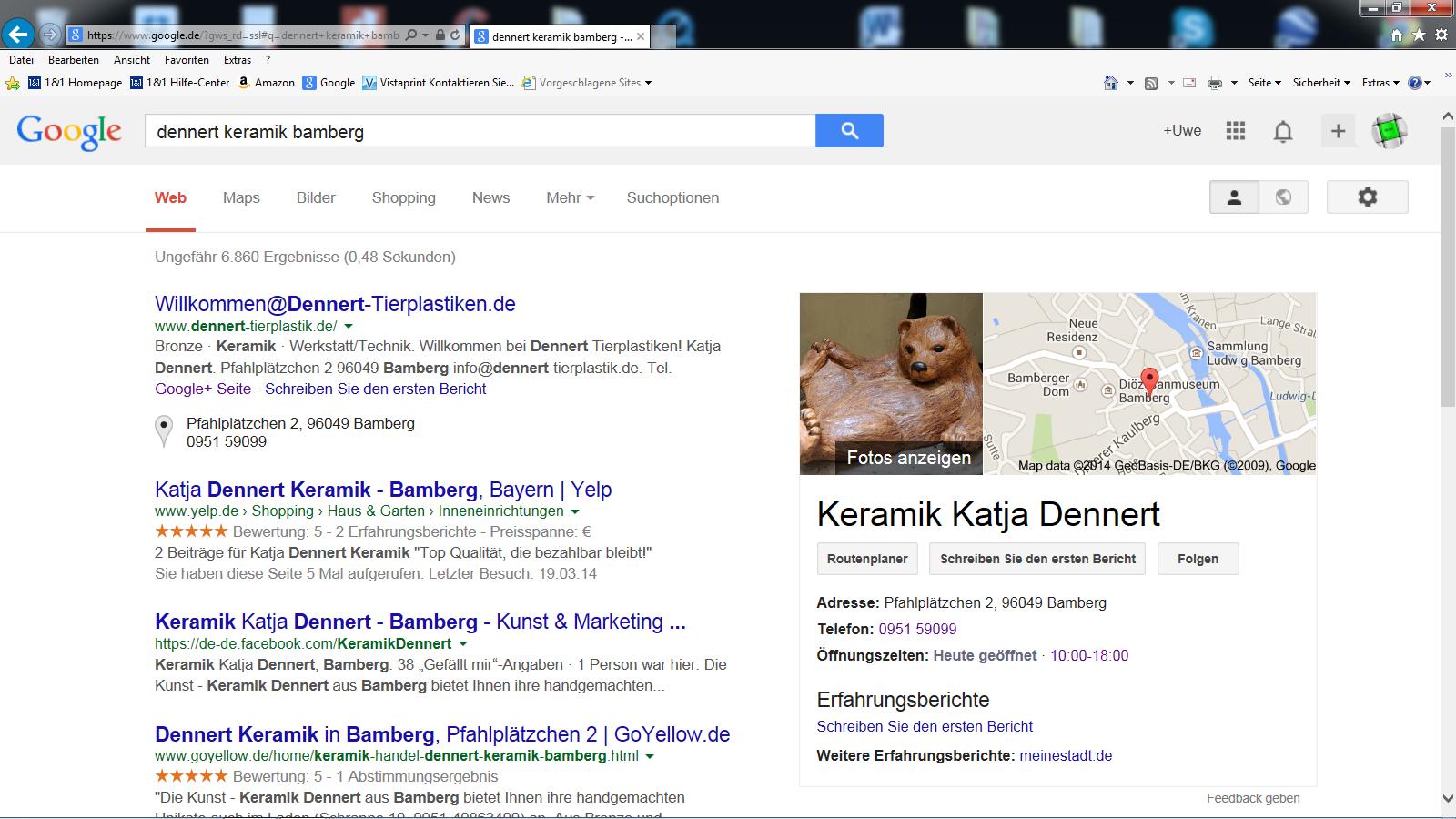 .... bei Google