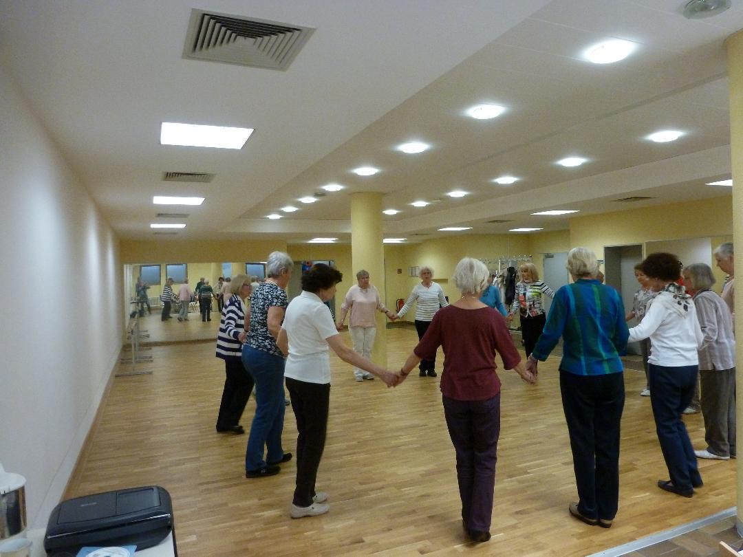 Gesellige Tänze mit Marianne Bauer-Stämpfli