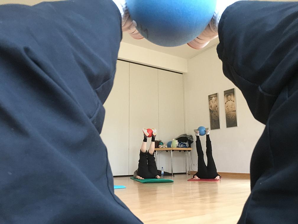 Bodengymnastik - aus einer anderen Sicht