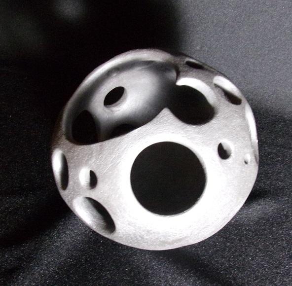Réf : SC201906 - Grès noir - Diamètre 15 cm
