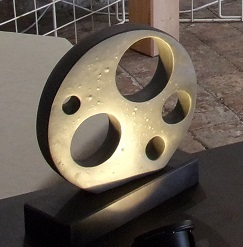 Réf : SC201904 - Grès noir - Diamètre 29 cm