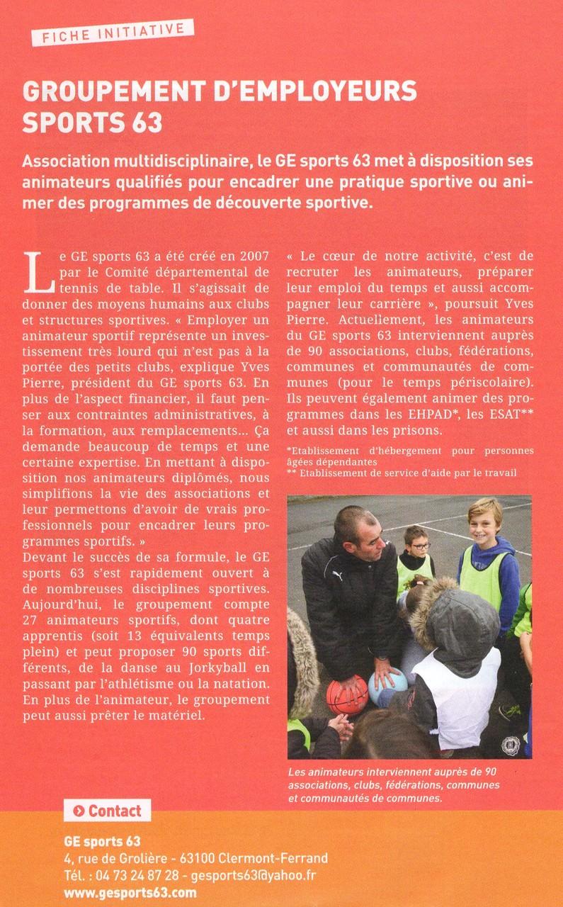 Puy de Dôme en Mouvement - Novembre 2015