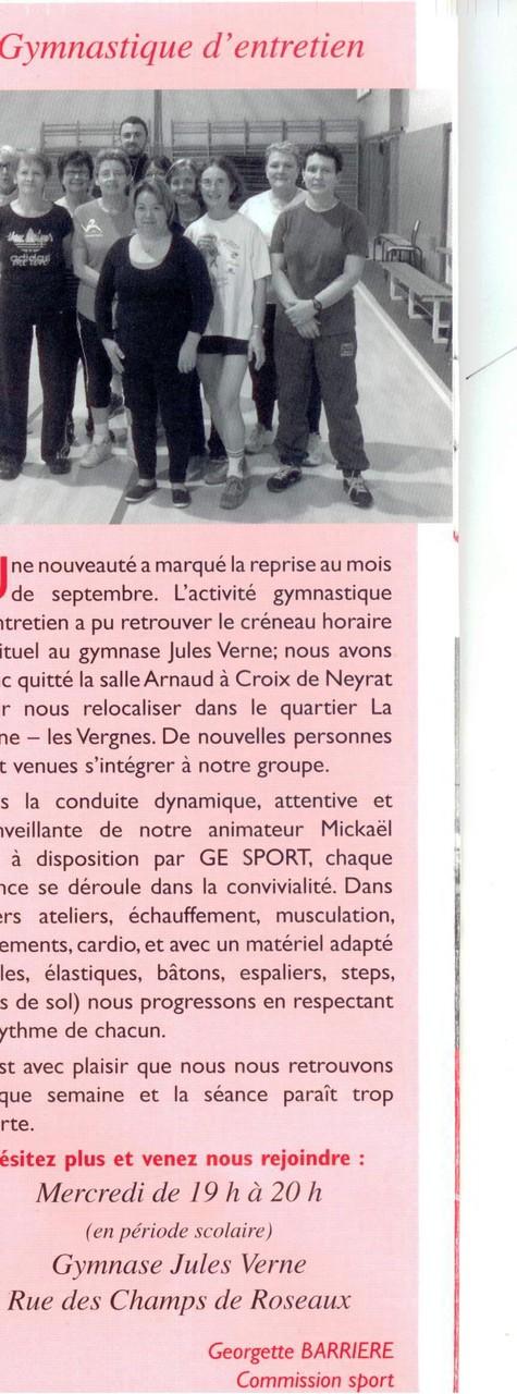 Bulletin Comité de Quartier La Plaine/Les Vergnes - Janvier 2015