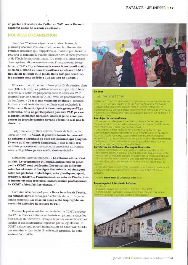 Entre Terre et Couteaux - Janvier 2014 (2/2)