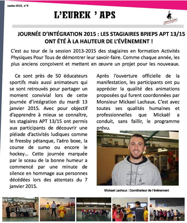 Journal Made In ADPS - Janvier 2015
