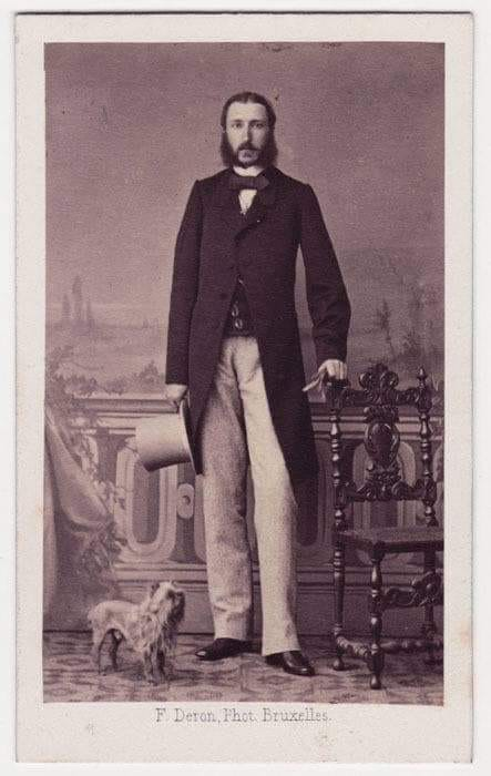 King Leopoldo of the Belgians 1860