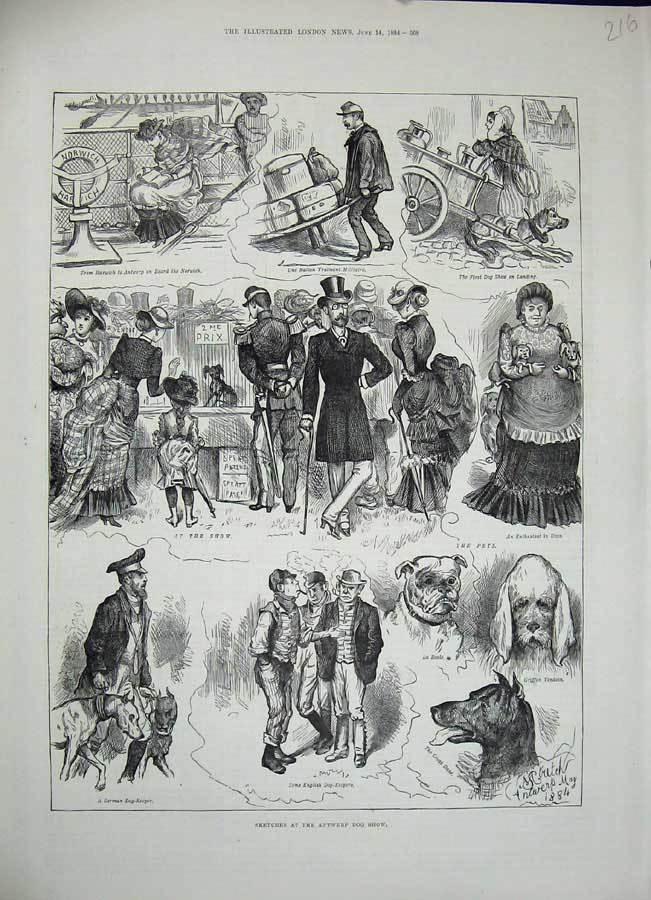 Dog Show 1848