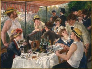 Luncheon of the Boating Party (1880–81)