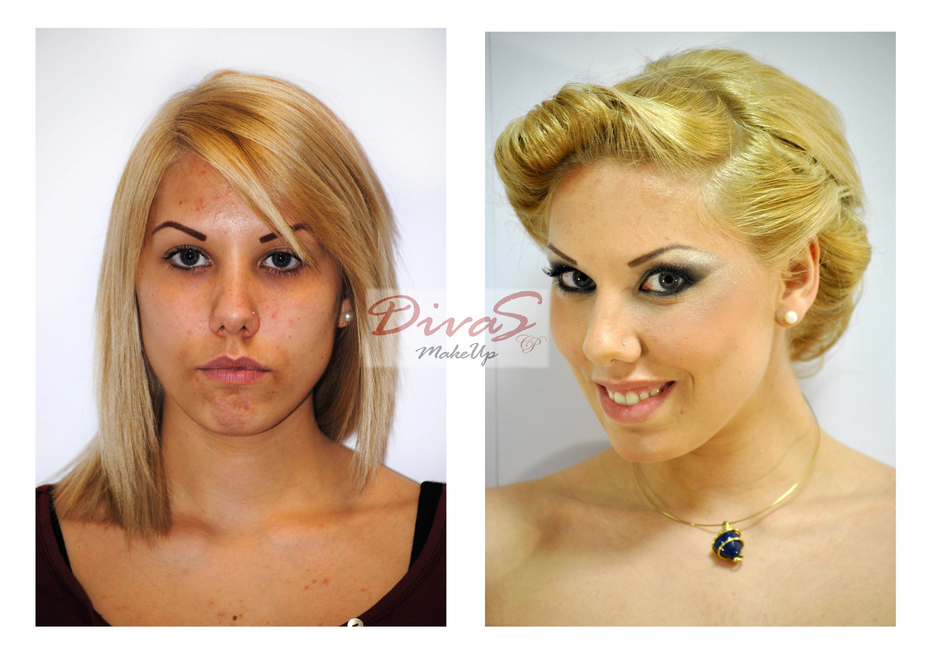 Make-up Prima e Dopo
