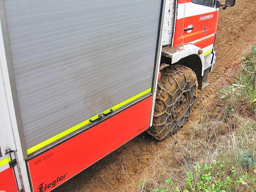 Offroad Training mit der Feuerwehr