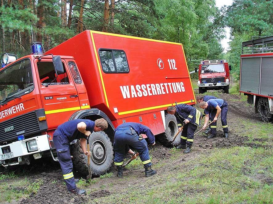 Allrad Kurs mit der Feuerwehr