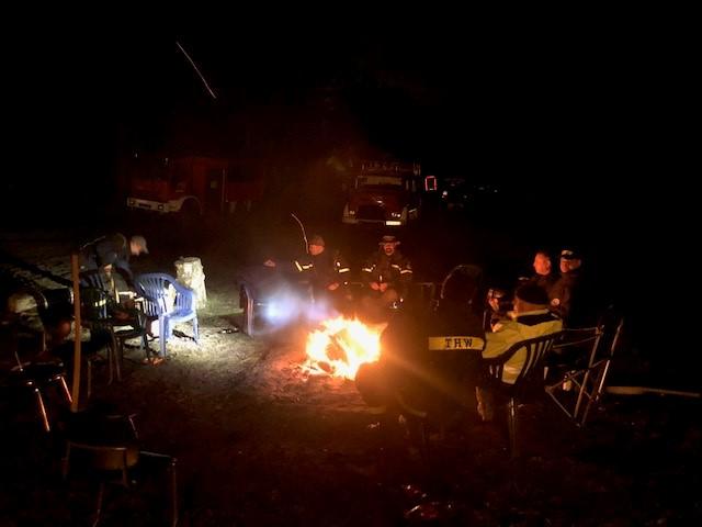 Ein Lagerfeuer ist obligatorisch