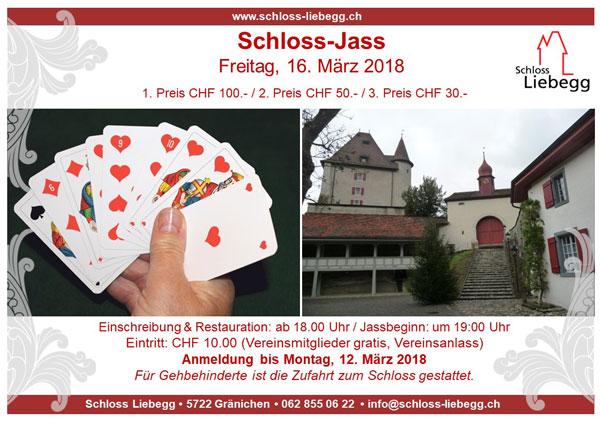Schloss-Jass am Abend