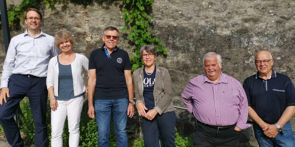 Vorstand 2020: Markus Merz, Karin Steiner Elsasser,  Urs Bachmann (Präsident), Gabi Striffler, Ueli Widmer (Kassier), Peter Frey