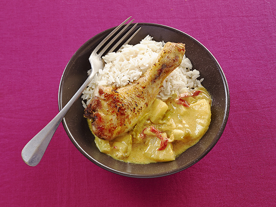 Curry doux de Poulet