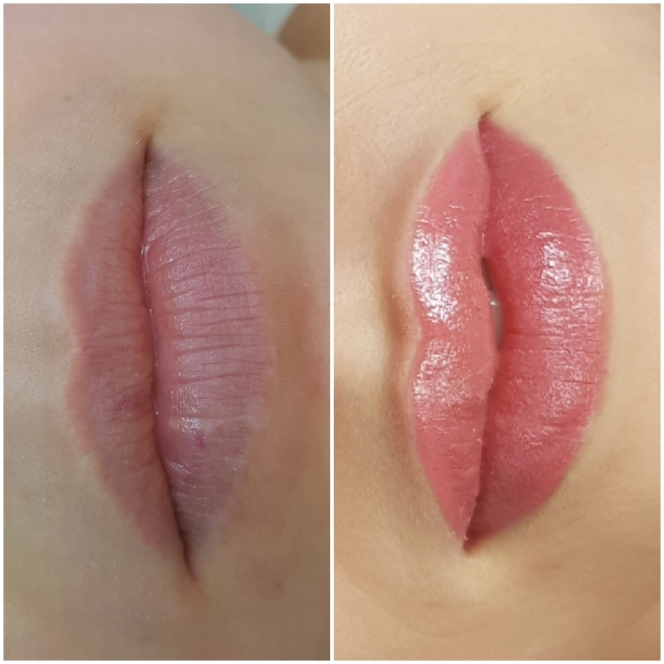 Nude usta permanentne