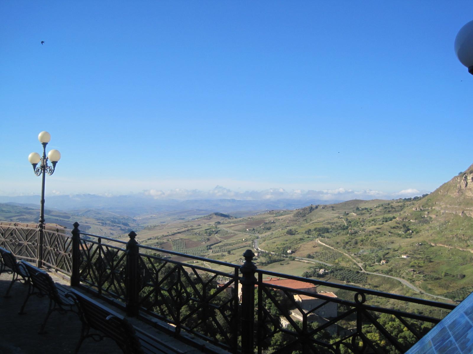 Ausblick von Petralia...