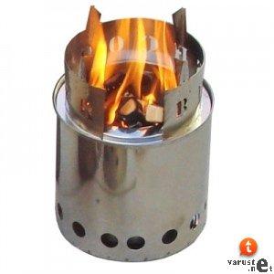 Voorbeeld van een houtgasbrander