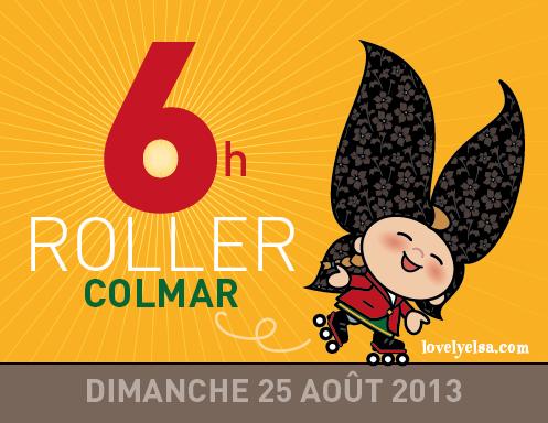 A l'occasion des 6h roller de Colmar, Lovely Elsa s'essaye au roller... Découvrez cette malicieuse petite alsacienne sur son blog. Merci à Jean Baeumelin pour cette illustration