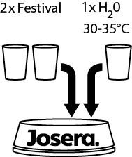 Josera festival влажный корм