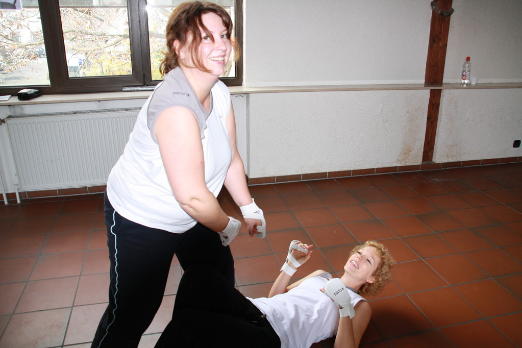 WingTsun Frauen Power in Frankenthal