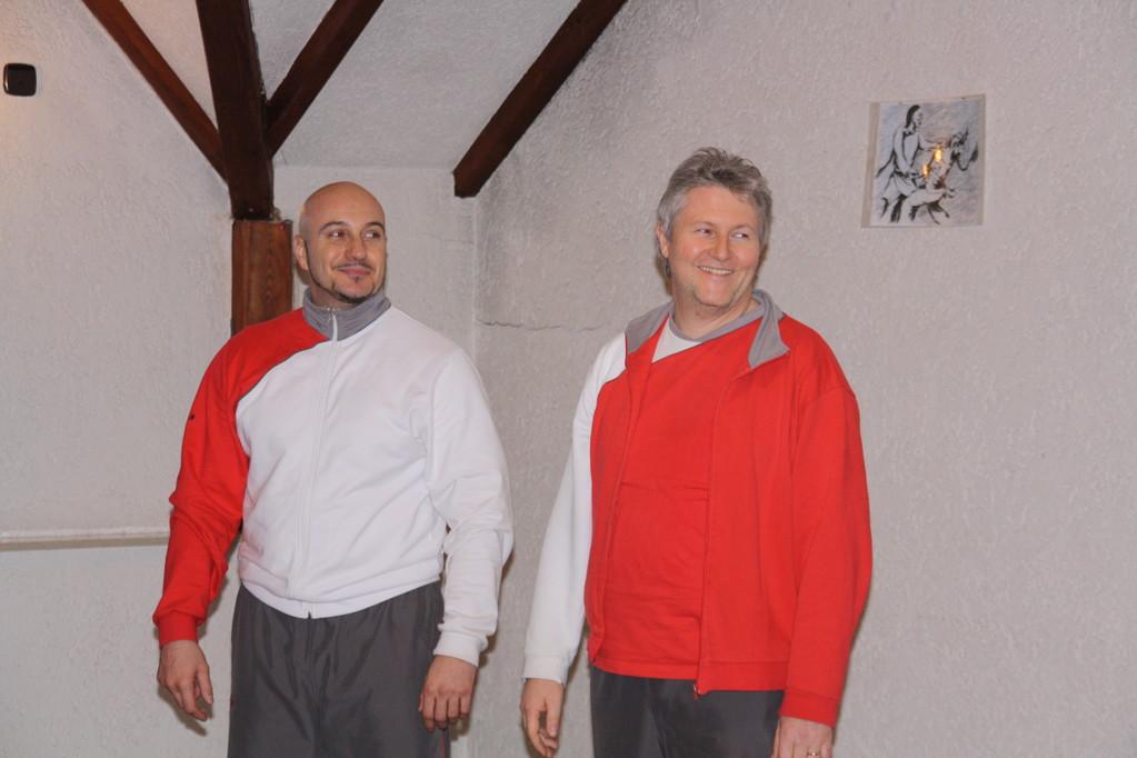 Sifu Rainer und Sihing Michael