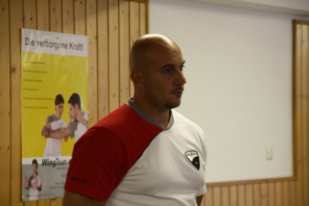 WingTsun Lehrer von Frankenthal Sihing Michael Lindenmann