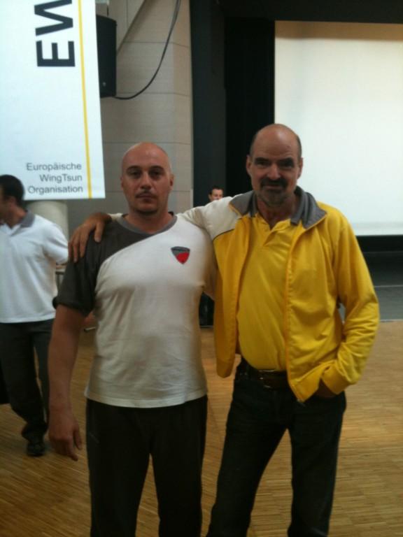 Sifu Kernspecht 10. Grad mit Sihing Michael Lindenmann