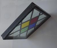 Glas in lood in dubbelglas isolatieglas