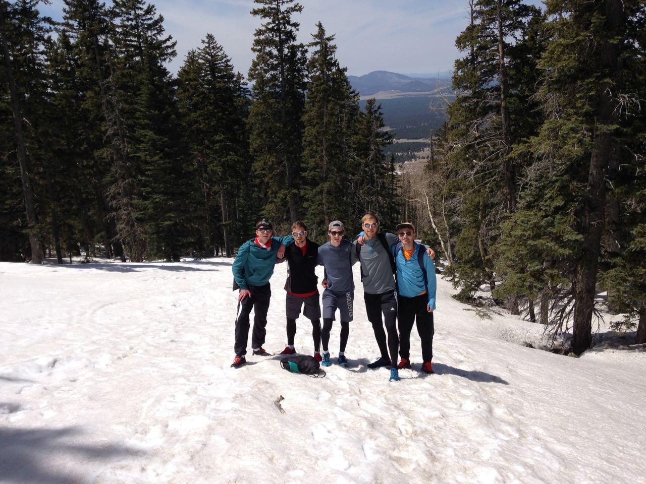 Wanderung auf den Humphreys Peak