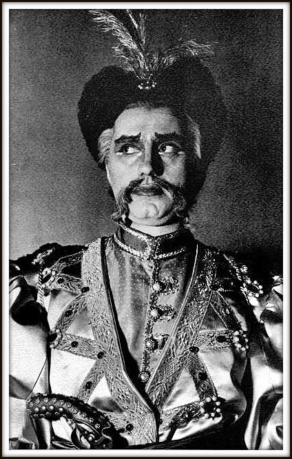 MAZEPA (ruolo del titolo) - di Piotr Ilijc Ciaikovskij - Firenze Teatro Comunale 6.6.1954