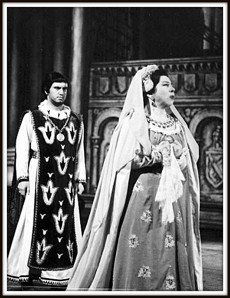 Alfonso XI - LA FAVORITA  con Giulietta Simionato (Leonora)