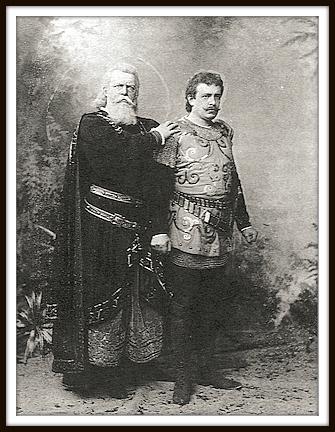 Jean de Reszke e Édouard de Reszke in Le Cid